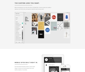Squarespace theming