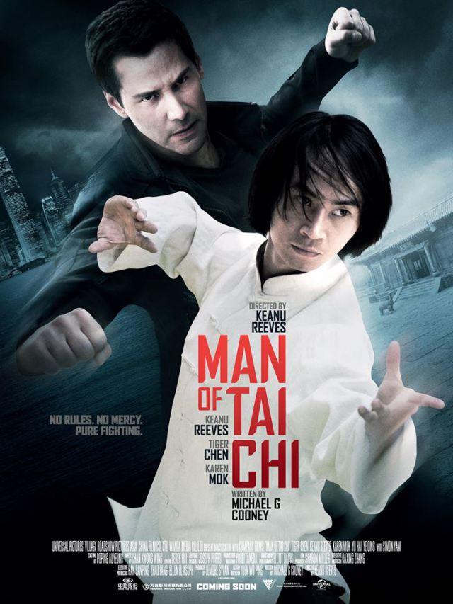 Man of Taichi movie poster