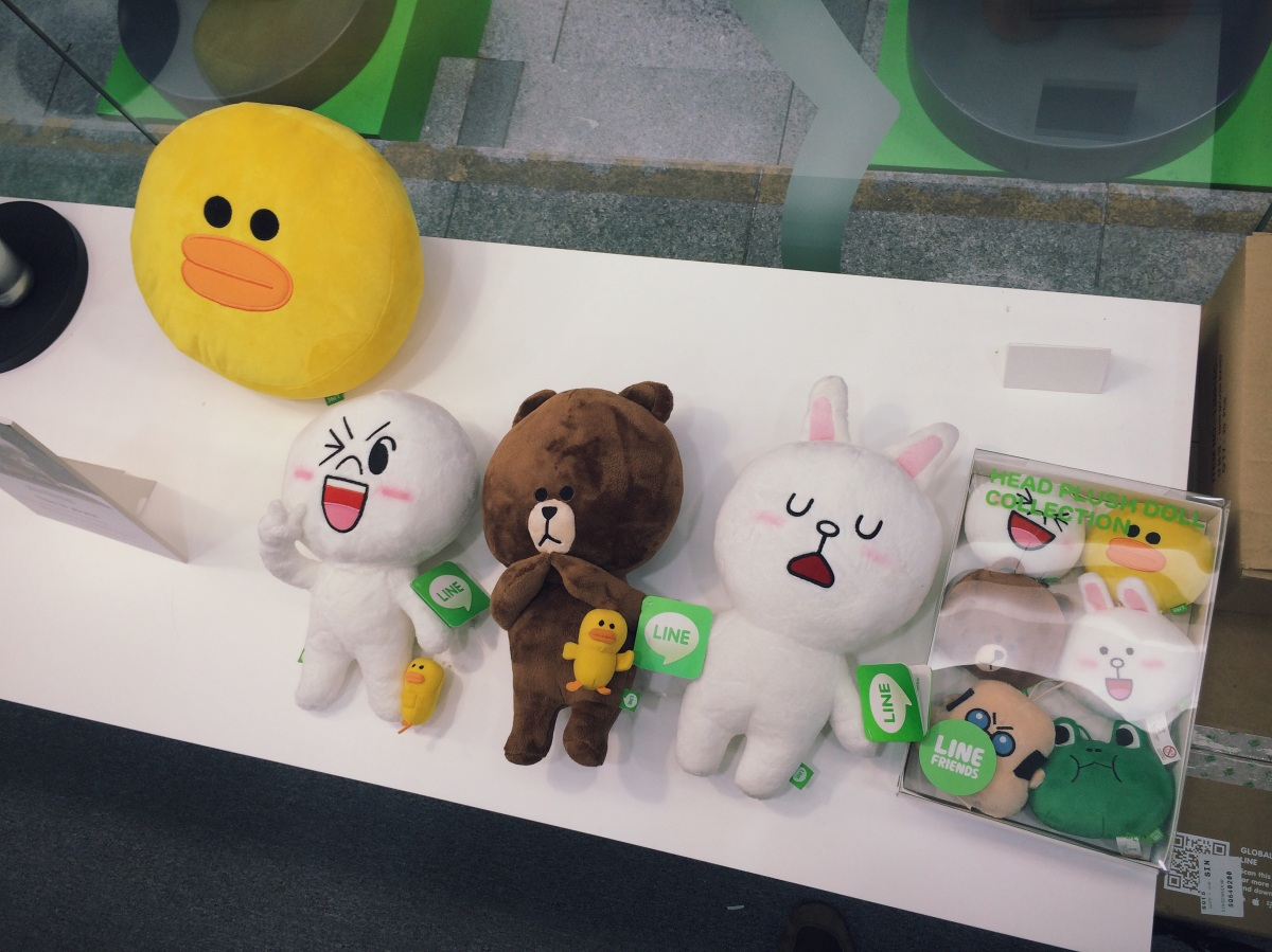 LINE Pop-Up Store Singapore, May 2014