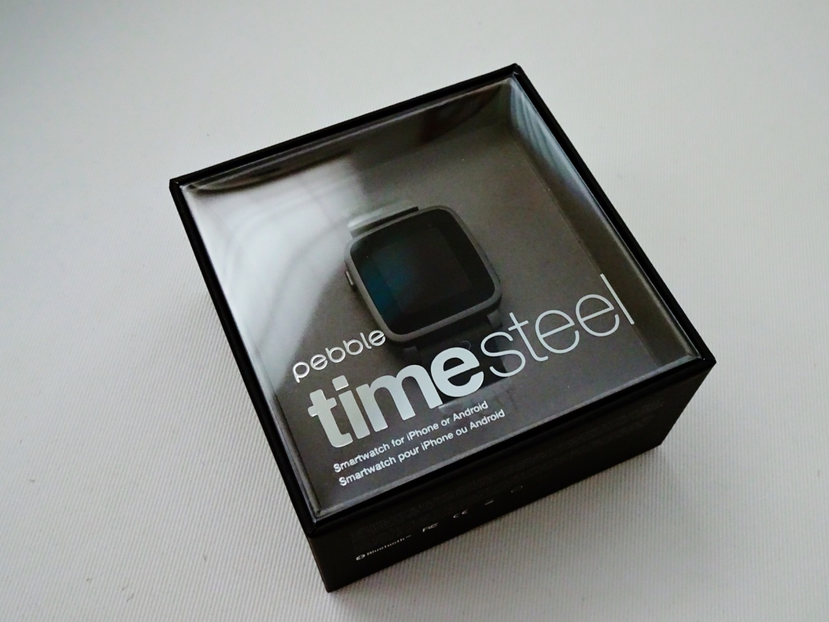 Pebble Time Steel: First Impressions